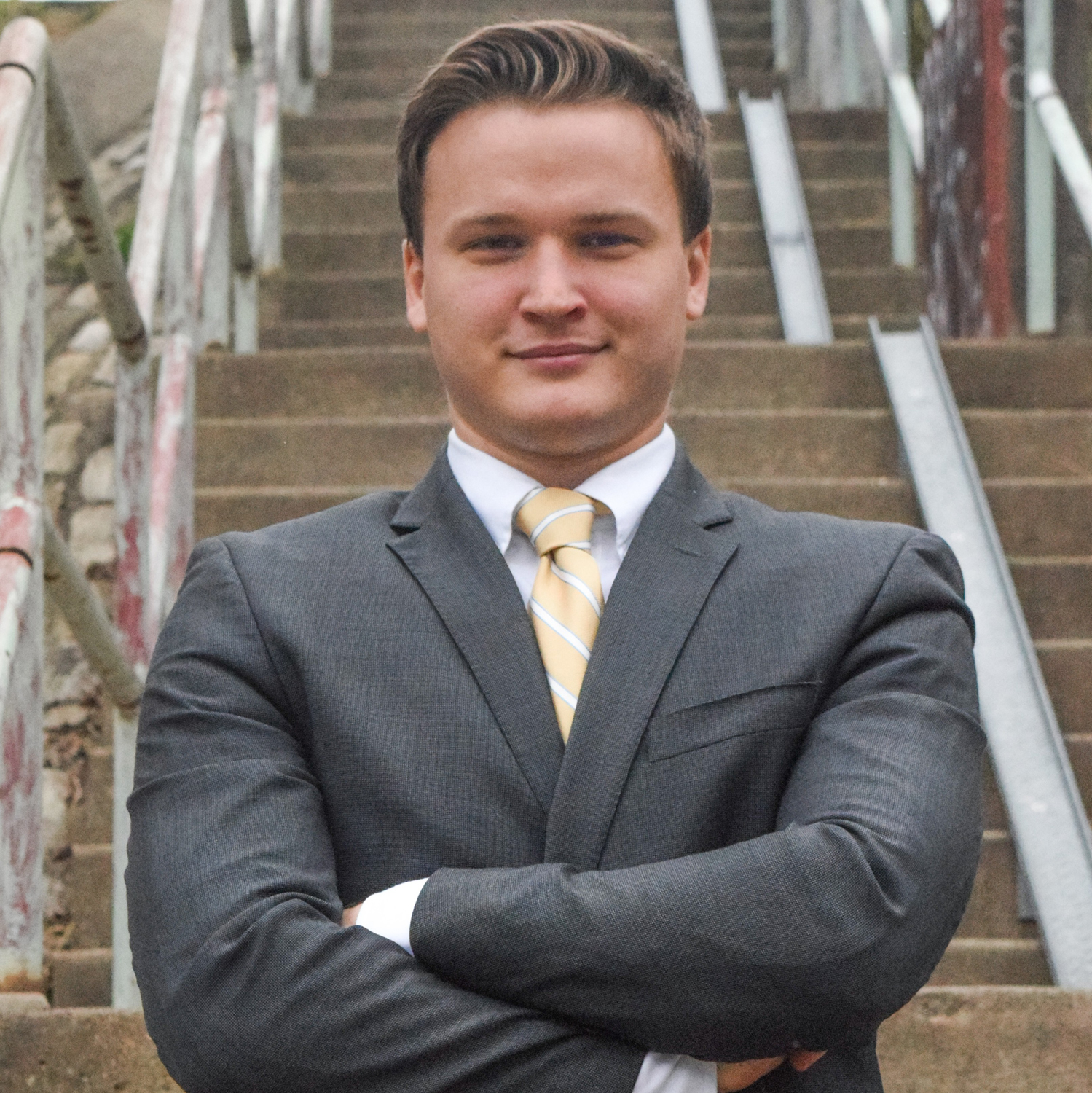 Twenty-five-year-old Computer science major Chris Kumanchik will run as a Democrat for the District 3 seat on City Council.