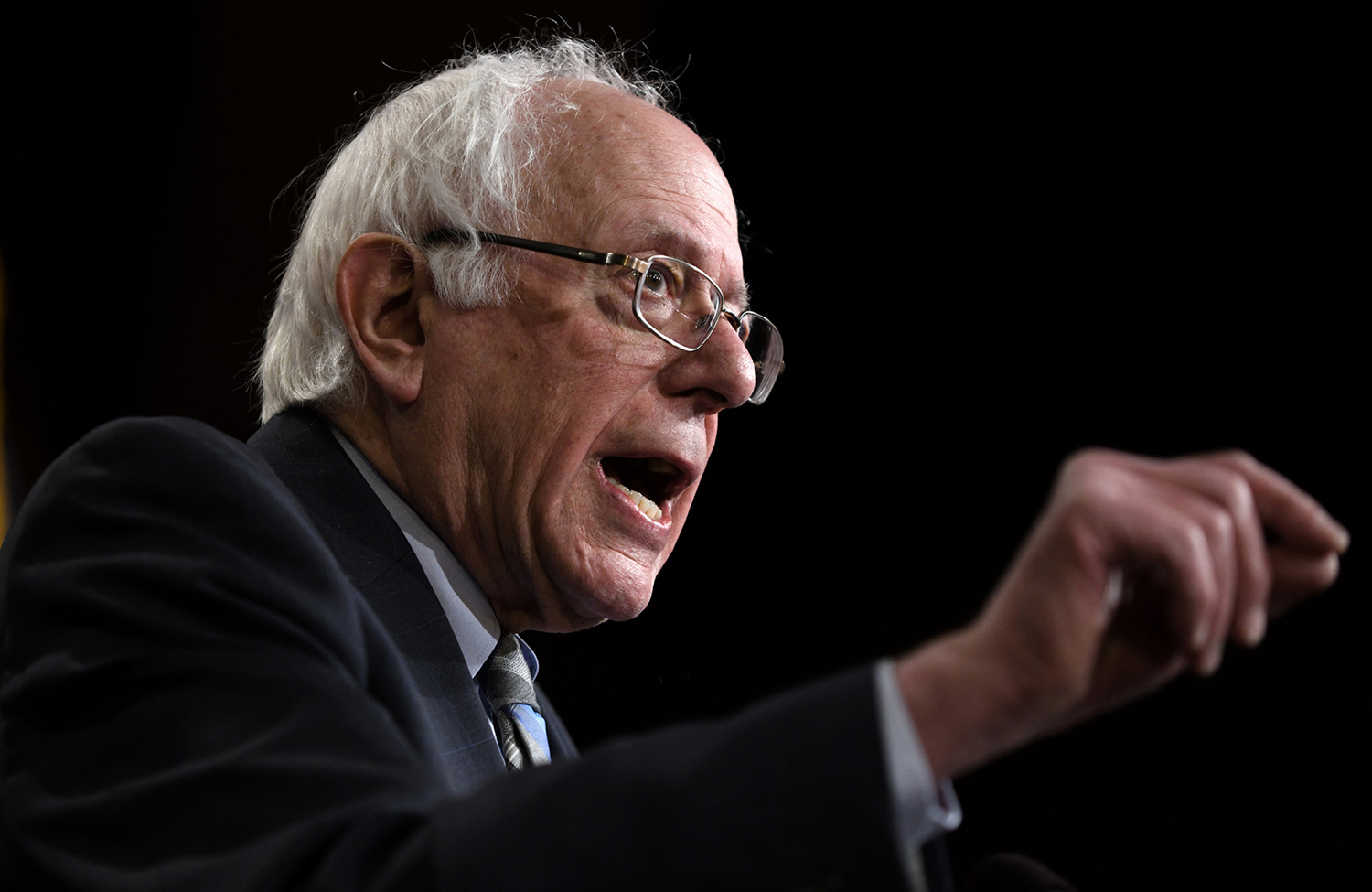 Sen. Bernie Sanders, I-Vt., announced Tuesday he would join a growing field of Democratic candidates in a bid for the presidency in 2020.