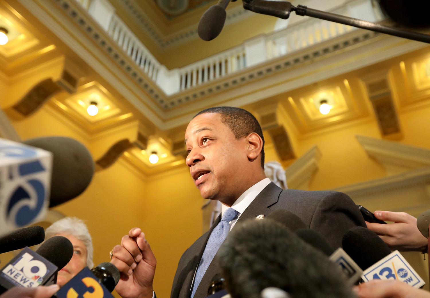 Lt. Gov. Justin Fairfax talks on Feb. 2 about the allegations of sexual assault and the possibility of him becoming the next governor of Virginia.