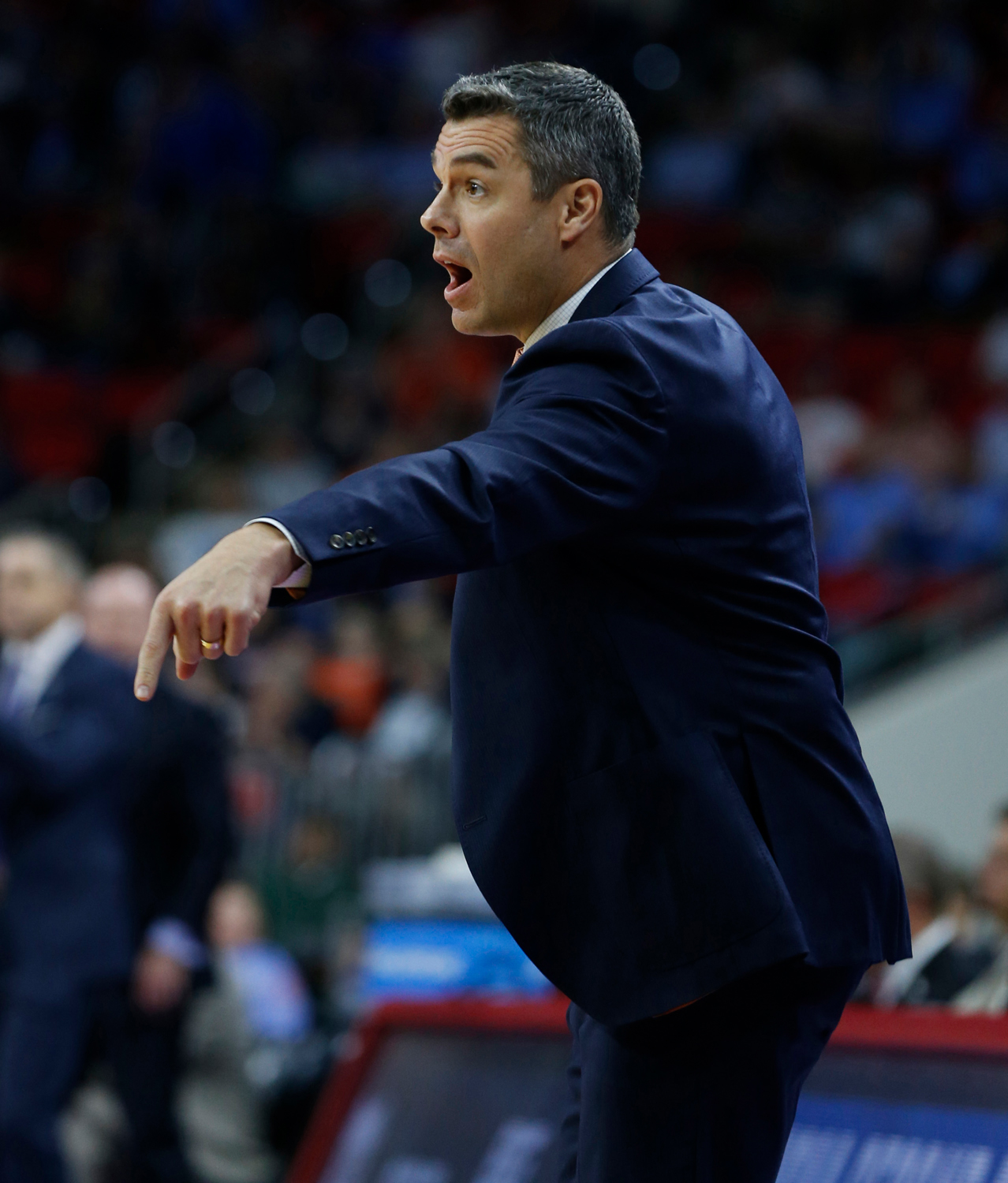 Virginia head coach Tony Bennett's Cavaliers enter this year's ACC Tournament as the No. 1 seed for the second straight season.