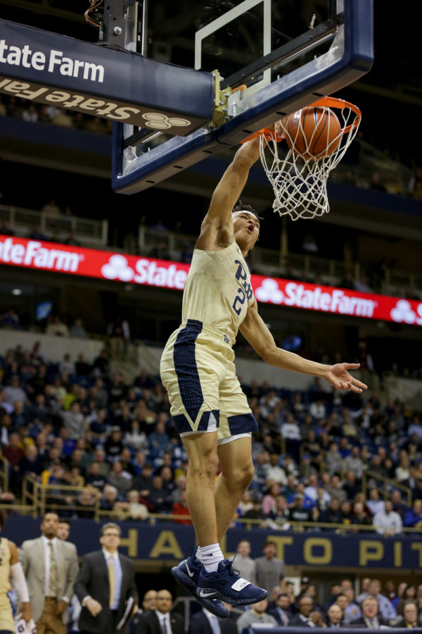 First-year+guard+Trey+McGowens%E2%80%99+%282%29%2C+pictured+here+against+Louisville%2C+scored+a+game-high+26+points+against+Boston+College+Tuesday+night.