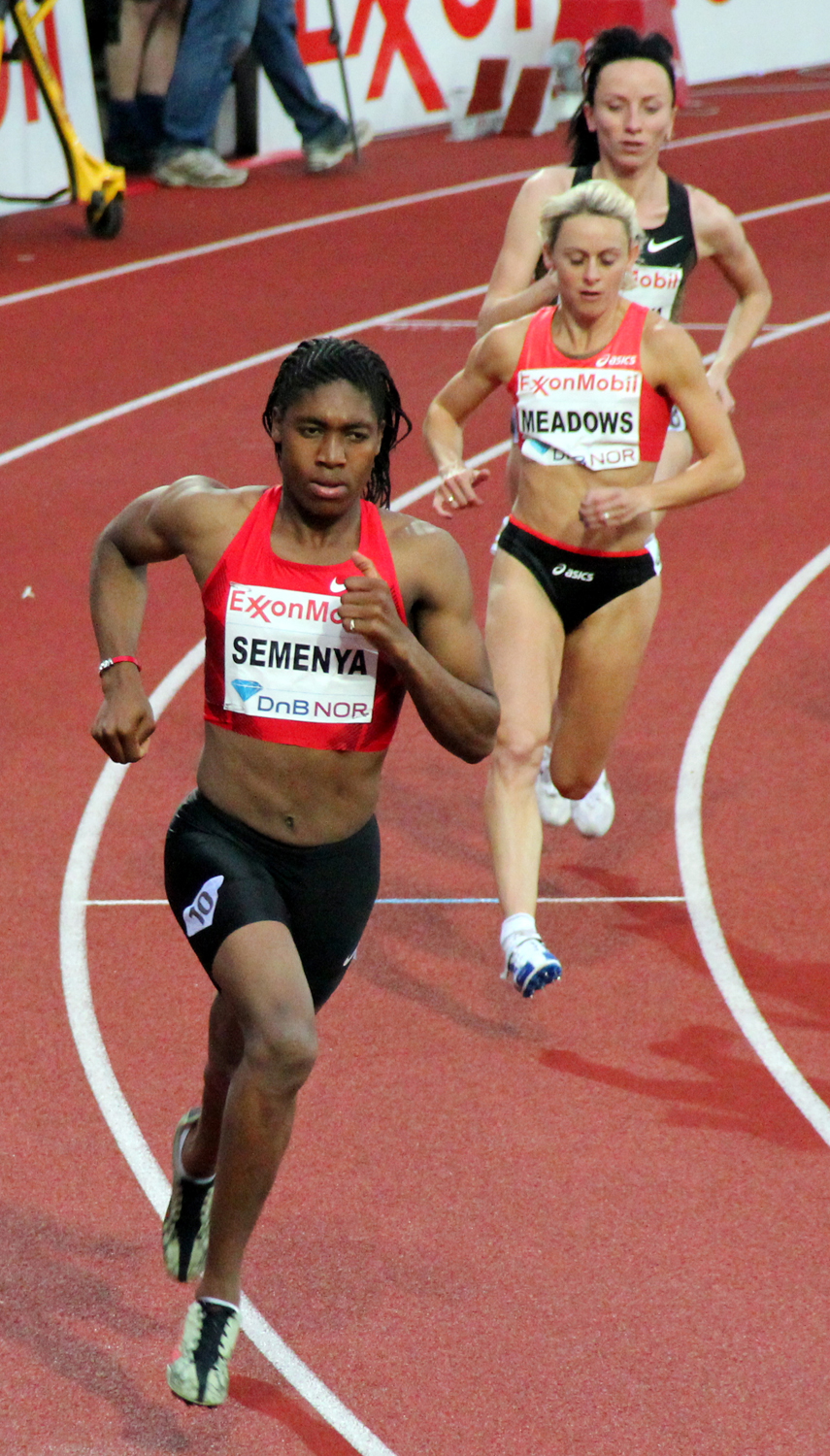Caster Semenya, a South African track-and-field star, has faced criticism for competing with female runners because of her supposed hyperandrogenism.