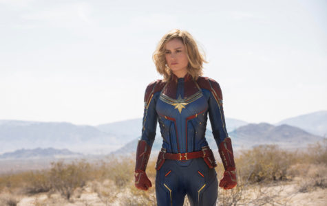 "Brie Larson stars as the lead role in ""Captain Marvel."""