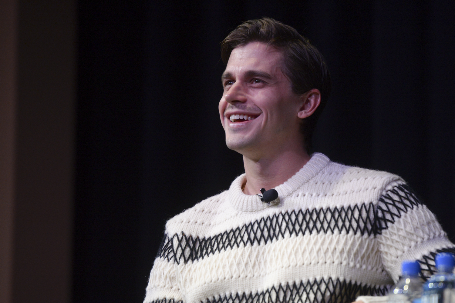 """Queer Eye"" food and wine expert Antoni Porowski visited Pitt on Nov. 28, 2018, for a Q&A and cooking demonstration."