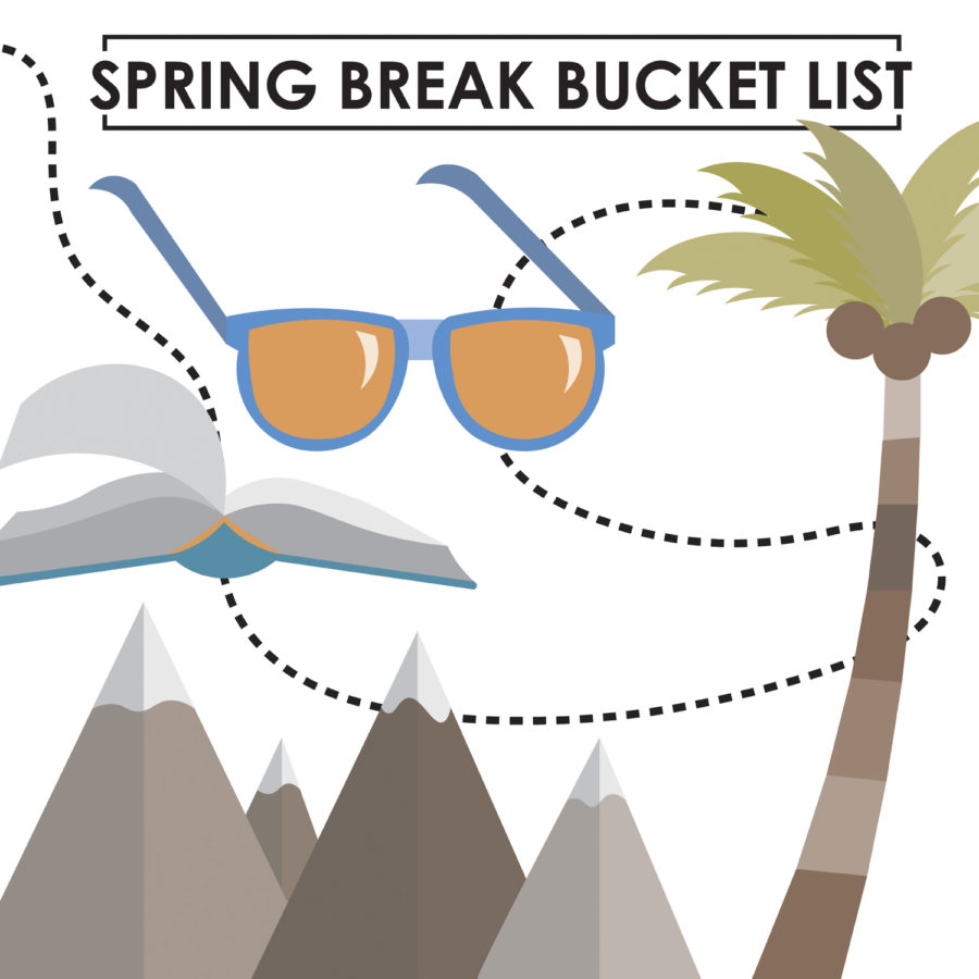 FOMO, grocery shopping and Netflix binging: Our 2019 spring break bucket list