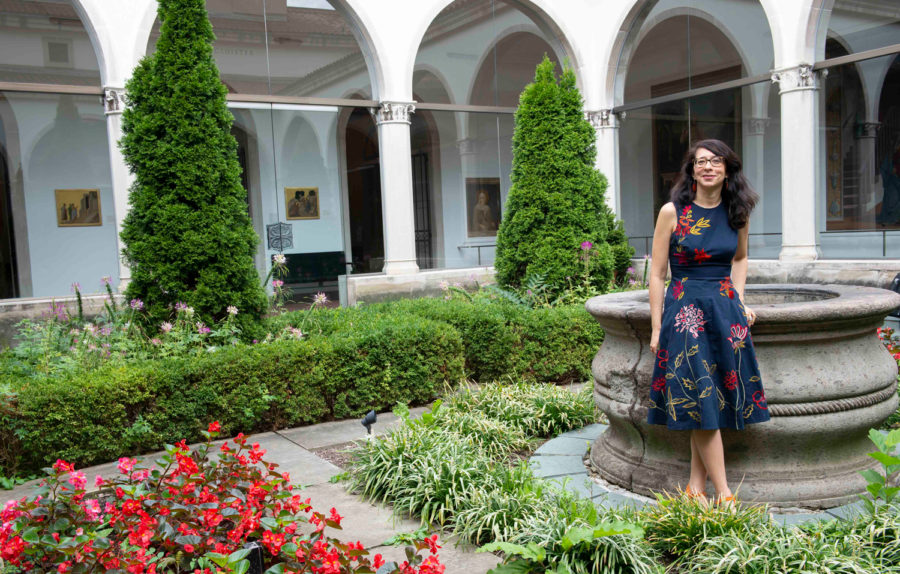 Sylvia Rhor's responsibilities as curator and director of Pitt's University Art Gallery involve managing the collection's care, curating exhibitions and touring visiting groups.