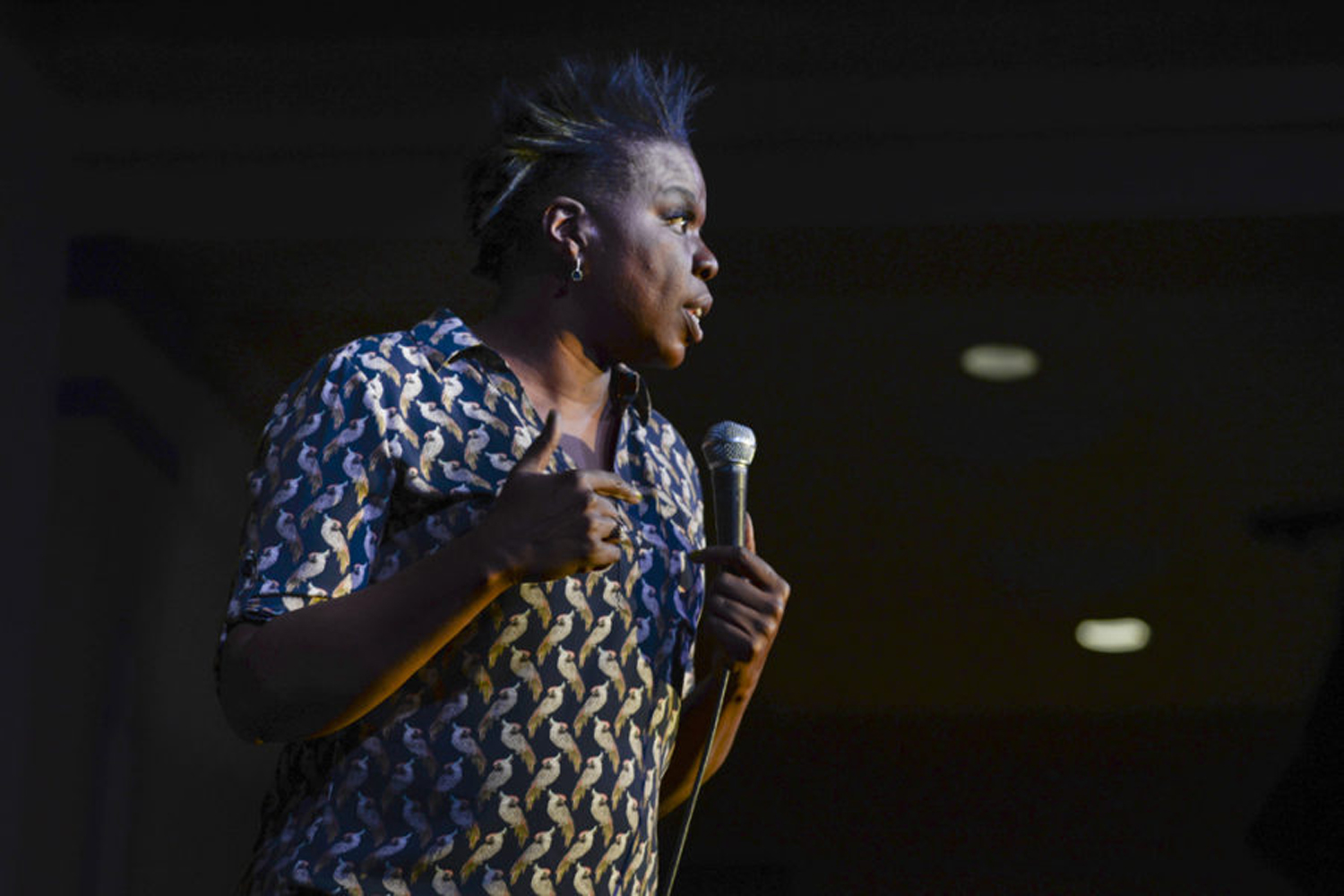 Leslie Jones performed at the first Women's Empowerment Week in March 2017.