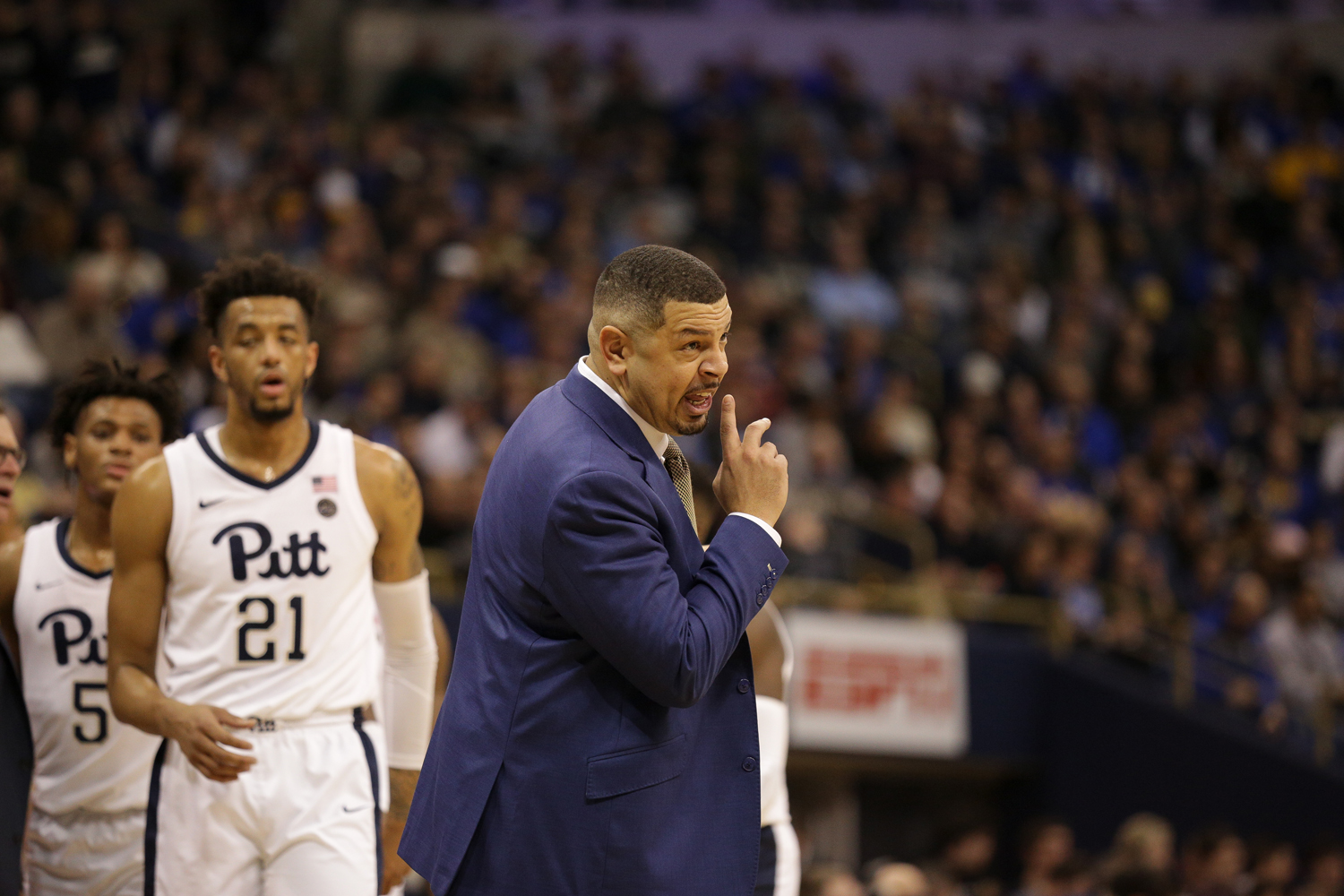 Men's basketball head coach Jeff Capel aims to restore the team to its former powerhouse status.