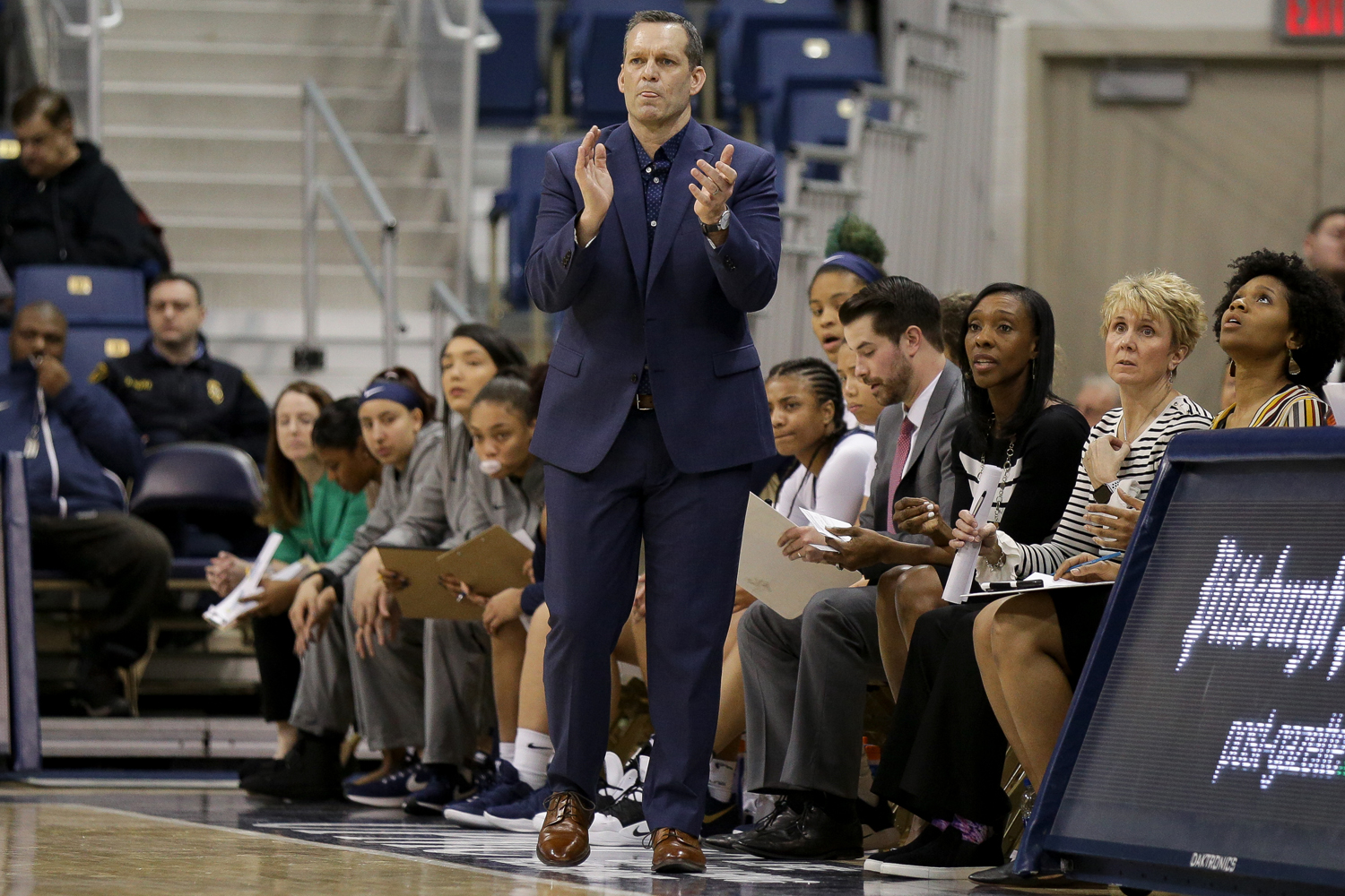 Women's basketball head coach Lance White's team currently sits near the bottom of the ACC in the No. 14 seed. The Panthers have won two of their 16 conference games.