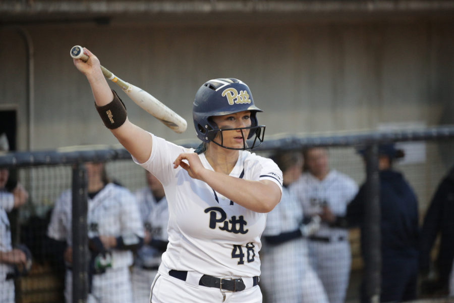 Senior+first+baseman+Gabrielle+Fredericks+%28pictured%29+and+junior+catcher+Walker+Barbee+recorded+the+lone+Panthers%E2%80%99+RBIs+on+the+day.+%0A%0A