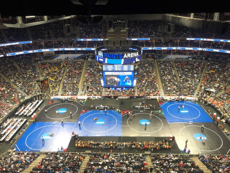 Over 18,000 fans flocked to Pittsburgh's PPG Paints Arena for Day 2 of the NCAA Division I Wrestling Championships on Friday.