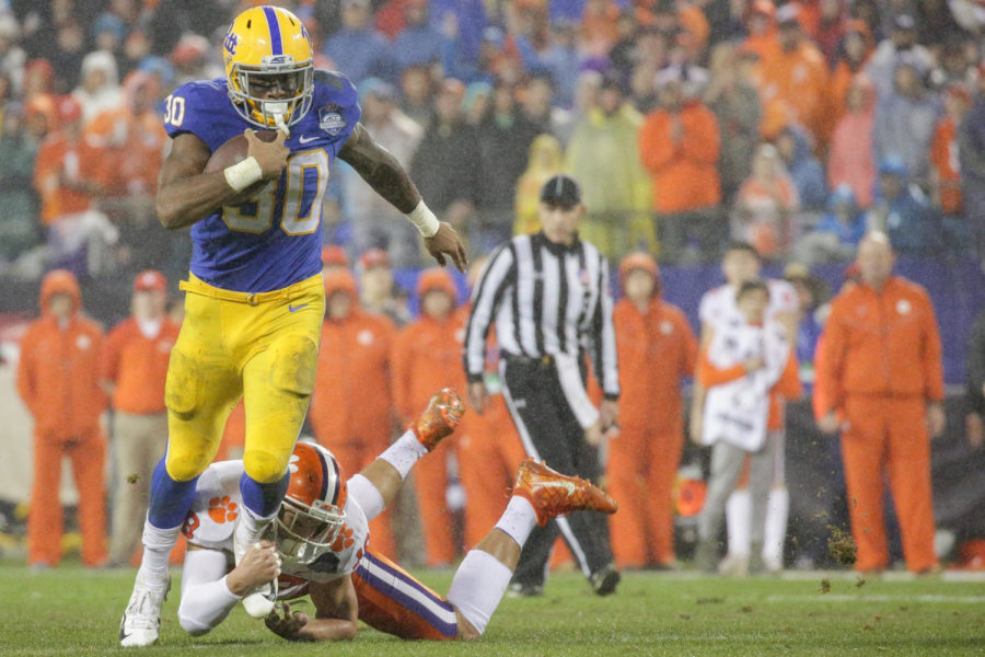 Atlanta adds Qadree Ollison in 5th round of NFL Draft