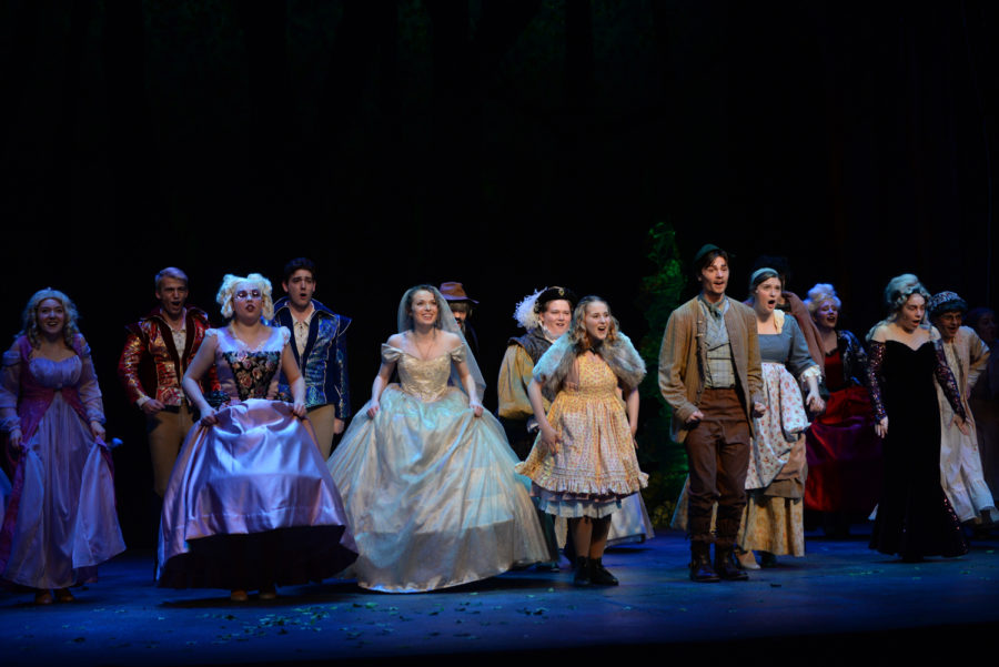 Pitt Stages preps for 'Into the Woods' opening night