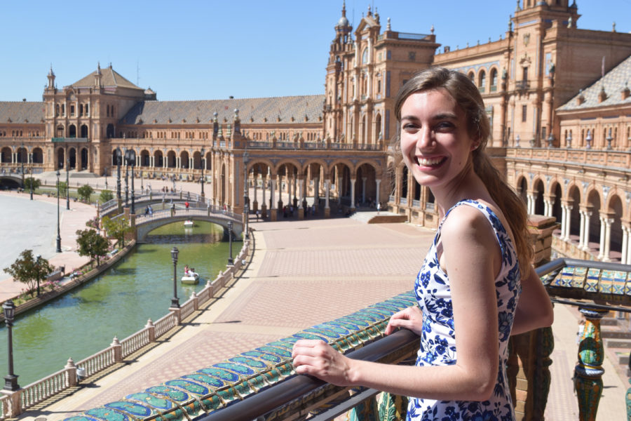 Abby Neer will be working in either a primary or secondary school in South Korea as an English teaching assistant.