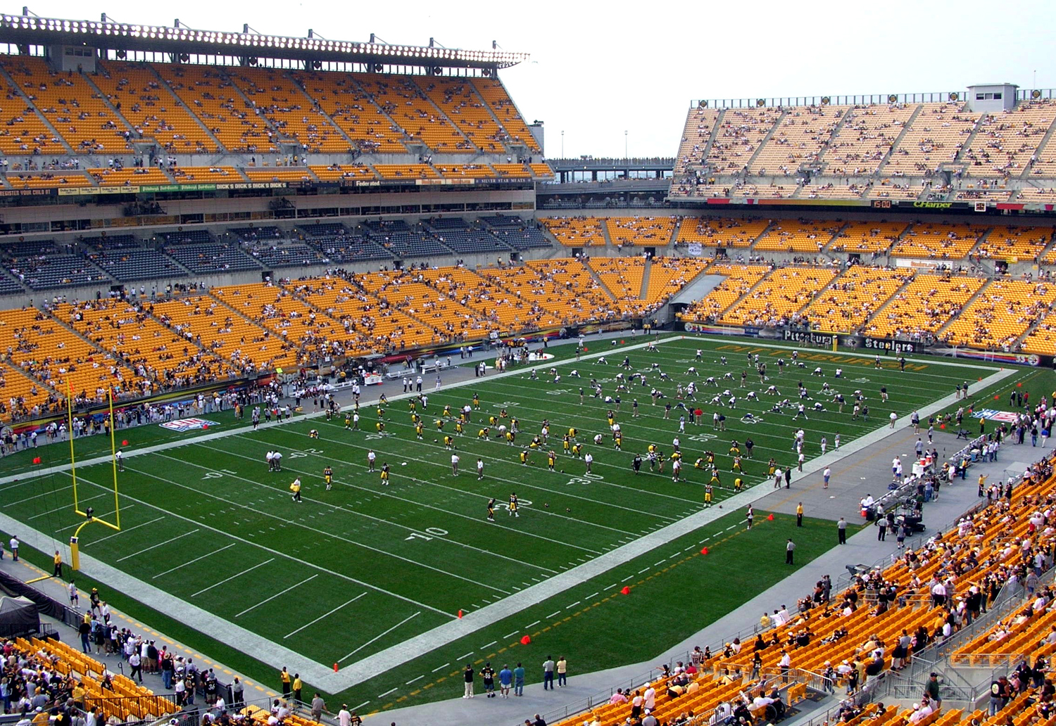Heinz Field is the only location for Pitt's home athletic events that sells alcoholic beverages.