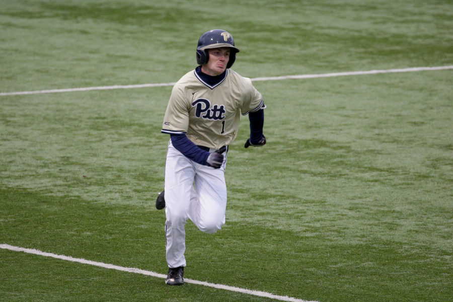 Junior outfielder Nico Popa earned two runs during Pitt's 7-2 victory over Penn State on Wednesday.