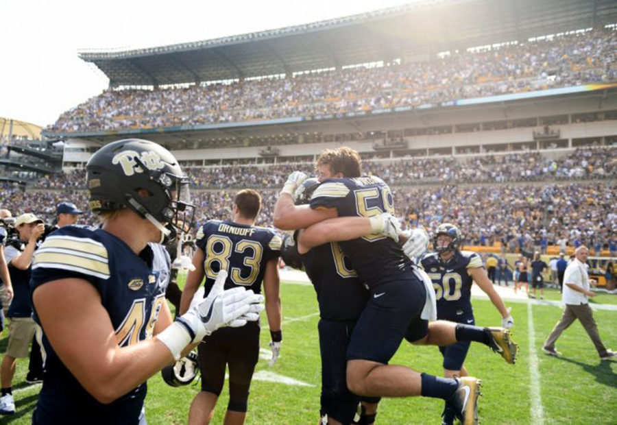 Stress-inducing moments from Pitt sports