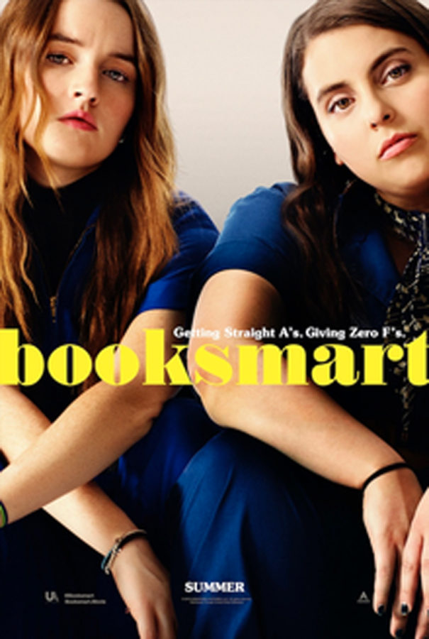 """Booksmart"" theatrical release poster."