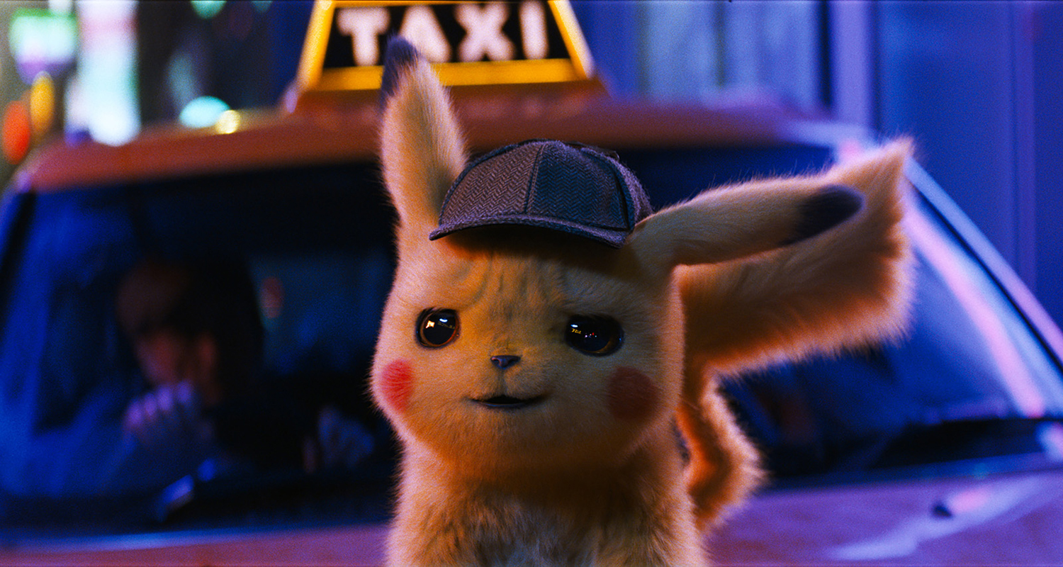 """Detective Pikachu"" production still."