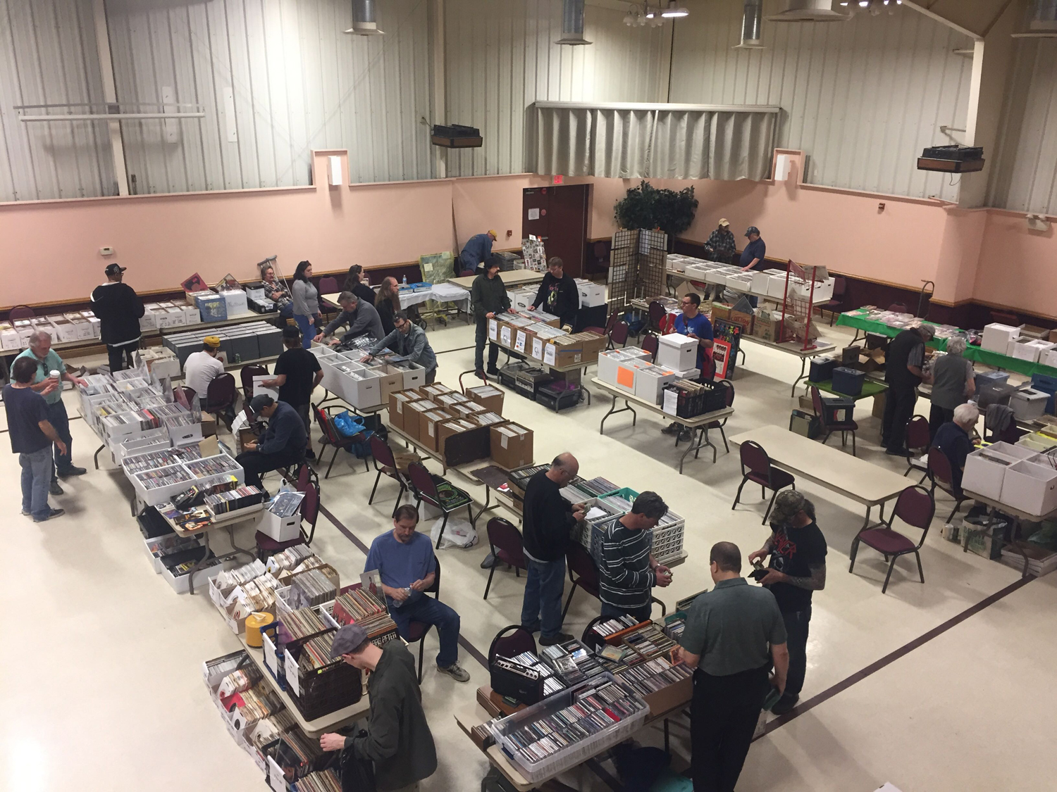 The Pittsburgh Record Convention at the Sokol Club on Saturday.