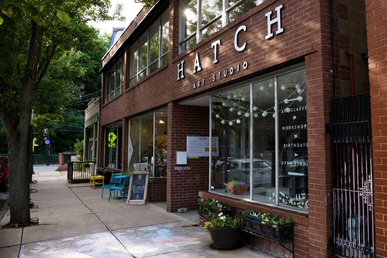 Hatch Art Studio in Point Breeze.