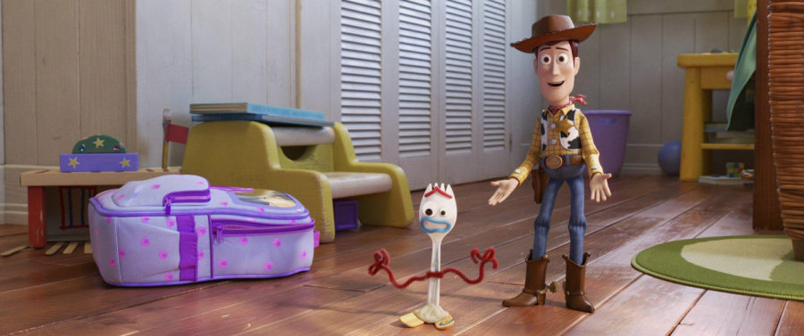 Woody+%28voiced+by+Tom+Hanks%29%2C+right%2C+with+Forky+%28voiced+by+Tony+Hale%29%2C+in+%E2%80%9CToy+Story+4.%E2%80%9D%0A