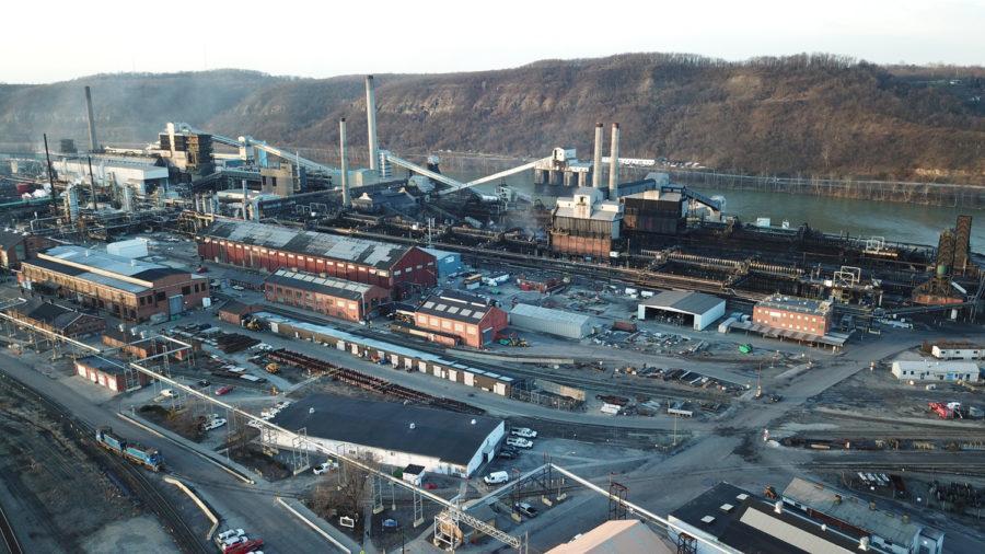 U.S. Steel's Clairton Coke Works plant.