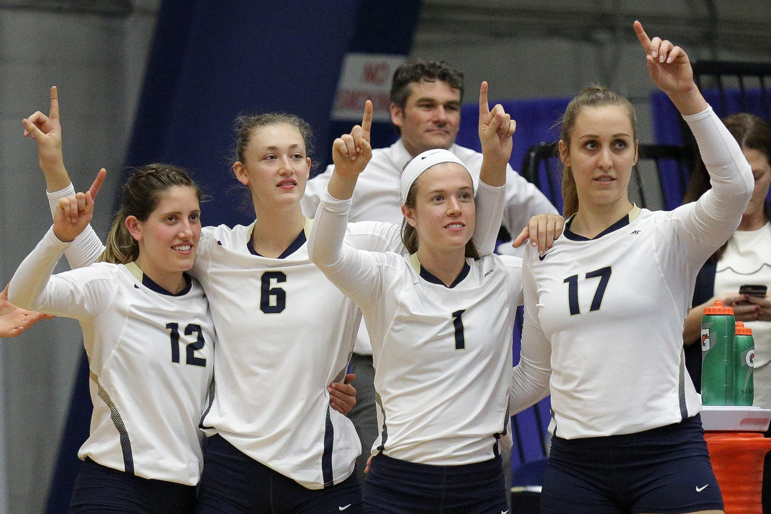 Women's volleyball is one of Pitt's best sports teams.