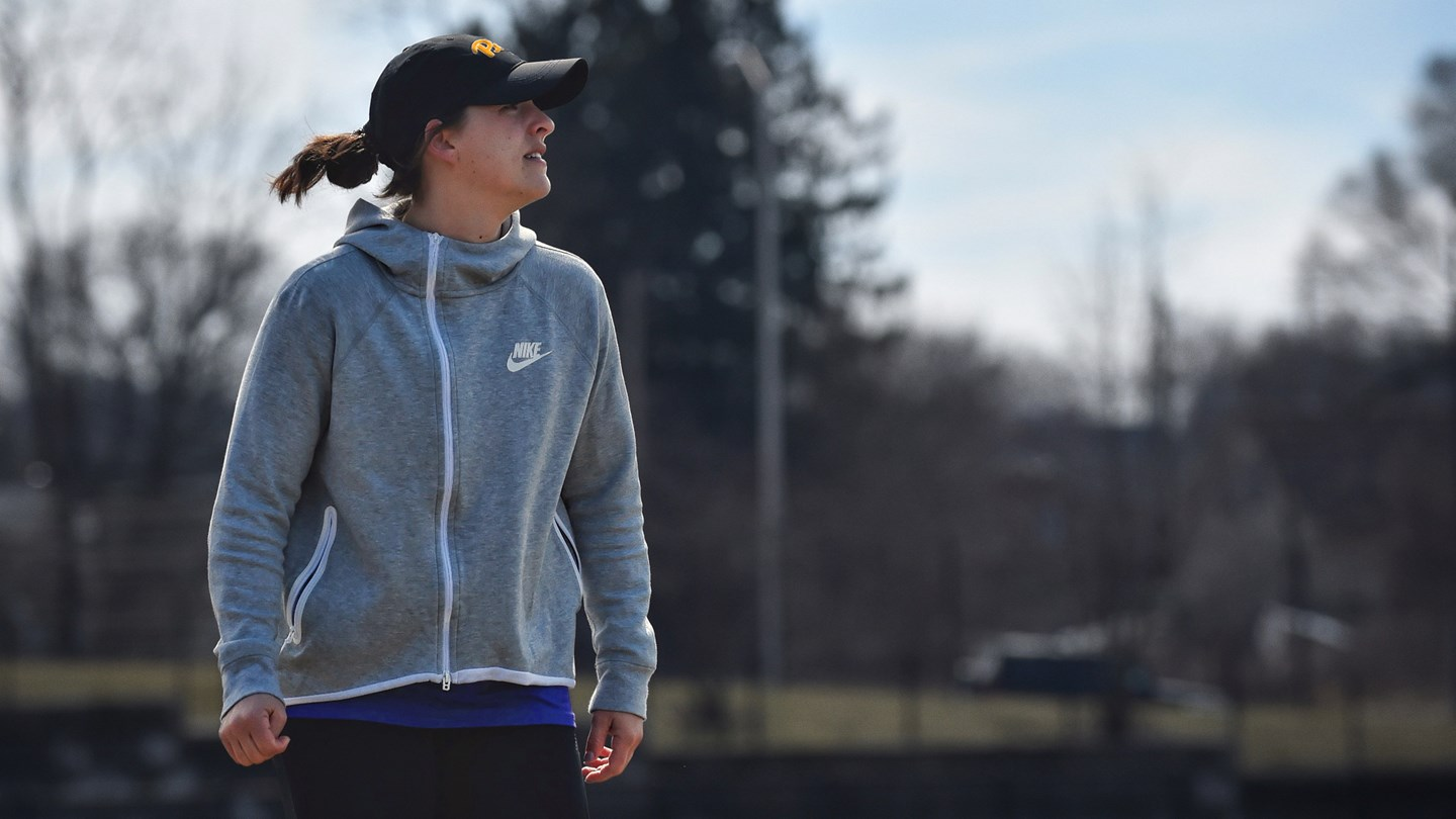 Emily Boissonneault will coach Pitt's varsity women's lacrosse team when the program opens in 2021-22.