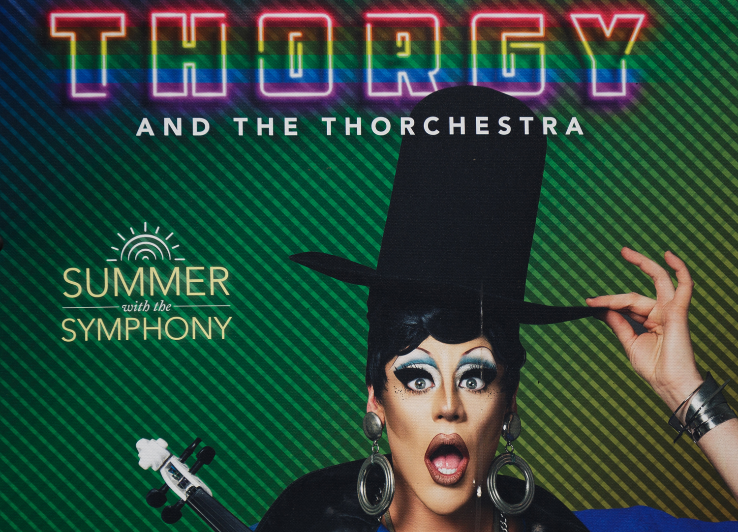 """Thorgy Thor and the """"Thorchestra"""" performed at Heinz Hall on June 27."""