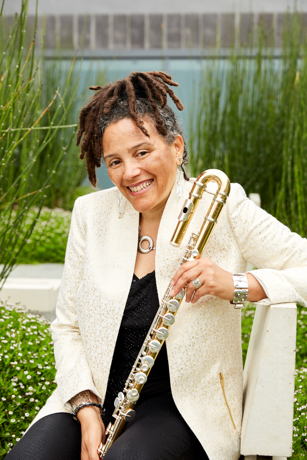 Nicole Mitchell, an internationally acclaimed jazz flutist, composer and educator, was named to the director of Pitt's Jazz Studies in January.