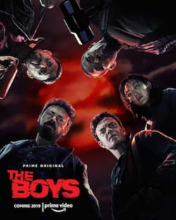 "Based on the comic book of the same name by Garth Ennis and Eric Kripke, ""The Boys"" is available on Amazon Prime Video."