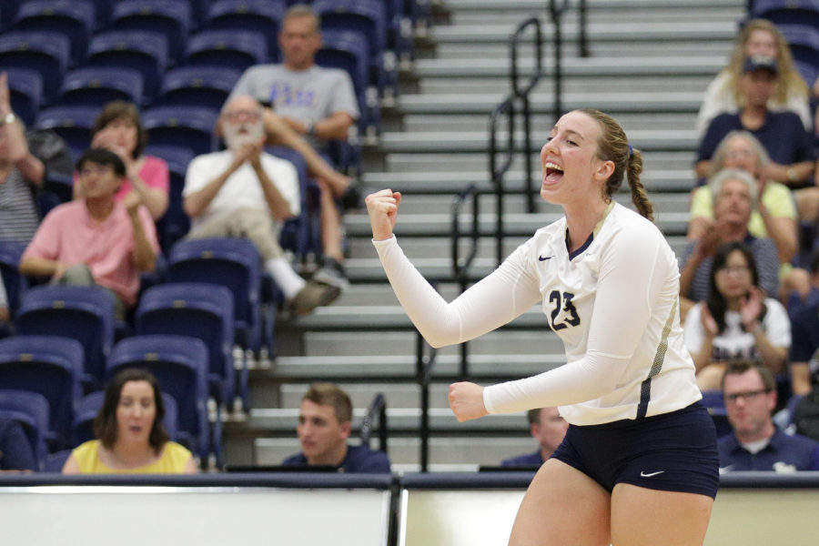 Pitt volleyball has no plans to slow down