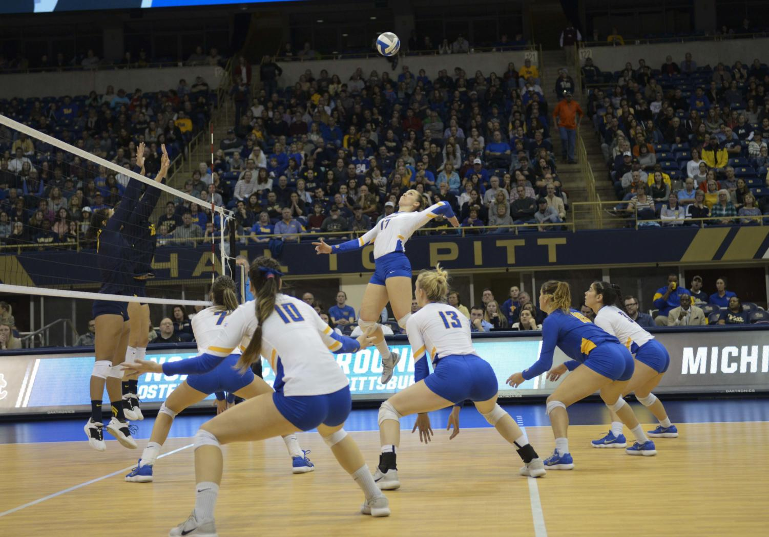 Pitt women's volleyball was picked for the first time in program history to win the ACC this year.