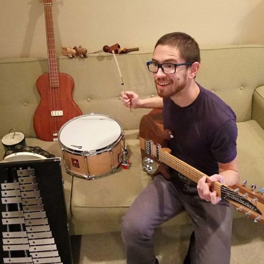 """Chris Kilburg, a University employee of nearly a decade, recently released his first complete album entitled """"Early August."""""""