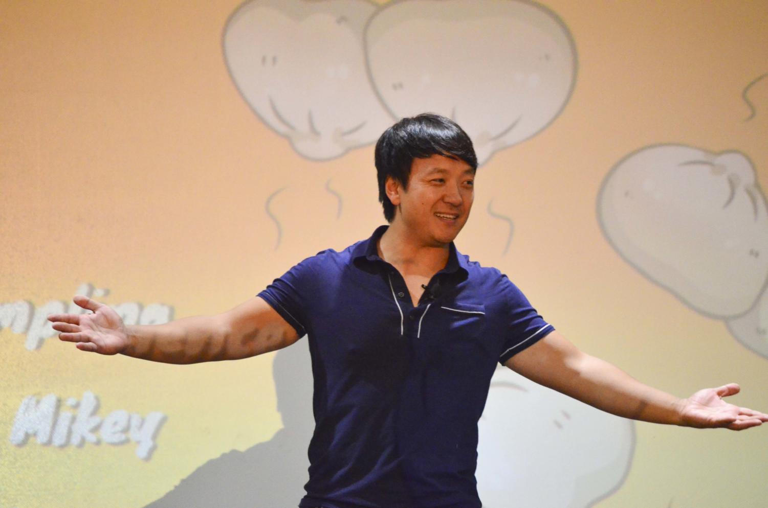 """YouTuber Mike Chen spoke at the Pitt Asian Student Alliance's event """"ASA Presents: Mike Chen"""" on Tuesday evening."""