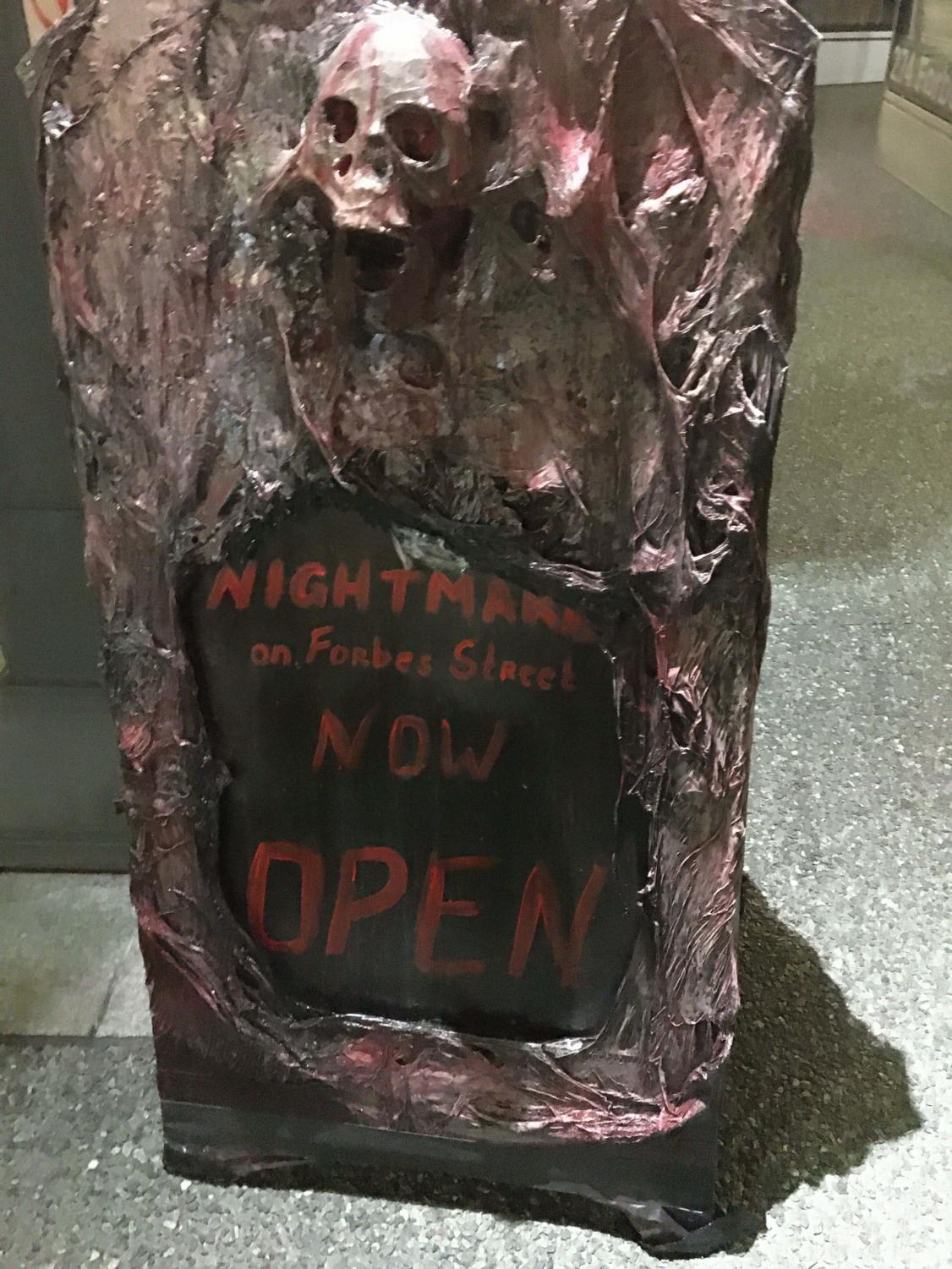 Nightmare on Forbes Street follows six other themed pop-up bars in the same space.