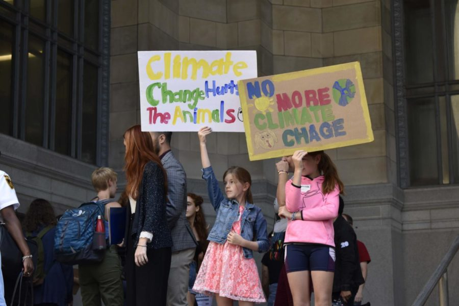 Hundreds of Pittsburghers join massive global climate strike