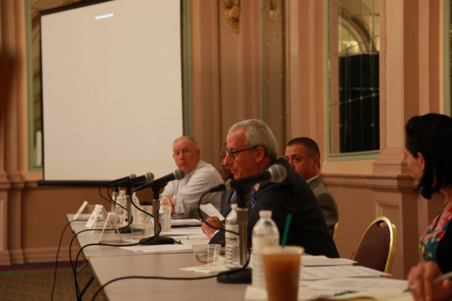 State Rep. Dan Frankel held a House Democratic Policy Committee hearing on gun violence on Friday morning in the William Pitt Union.