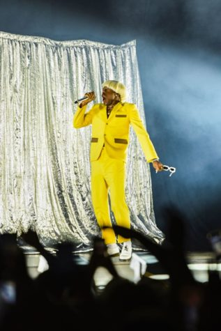 California native and rapper Tyler, The Creator performed at Stage AE on Tuesday night.
