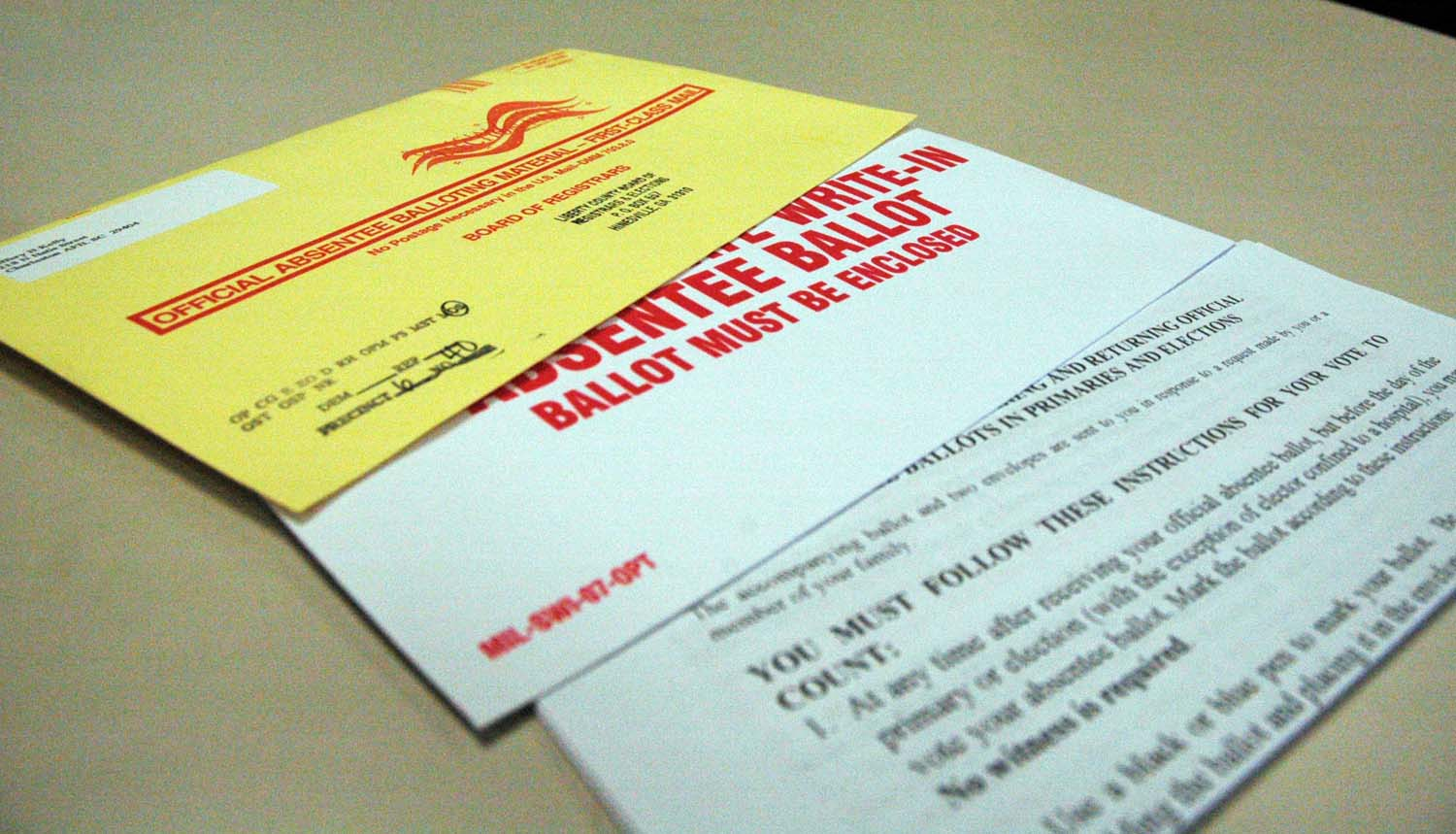 Pennsylvania voters can now apply for an absentee ballot online.