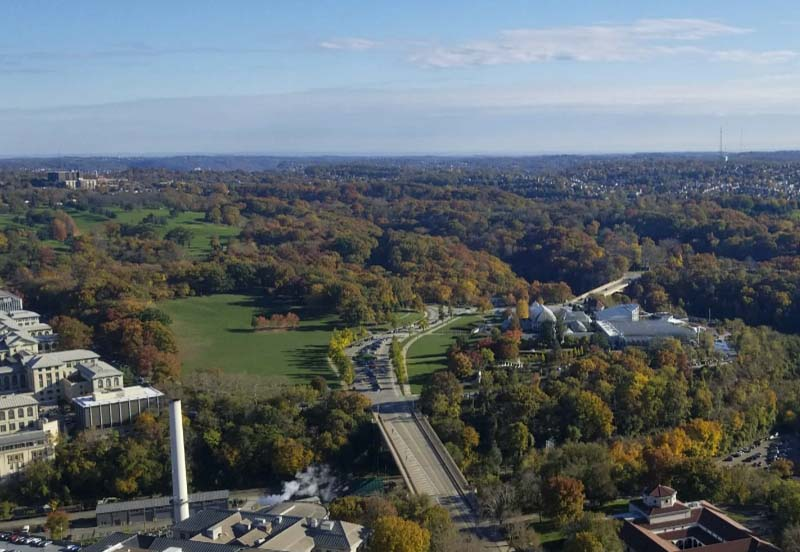 Pennsylvania%E2%80%99s+Commonwealth+Funding+Authority+awarded+the+Pittsburgh+Parks+Conservancy+a+%24100%2C000+grant+to+restore+parts+of+Flagstaff+Hill%2C+located+across+from+the+Phipps+Conservatory.+
