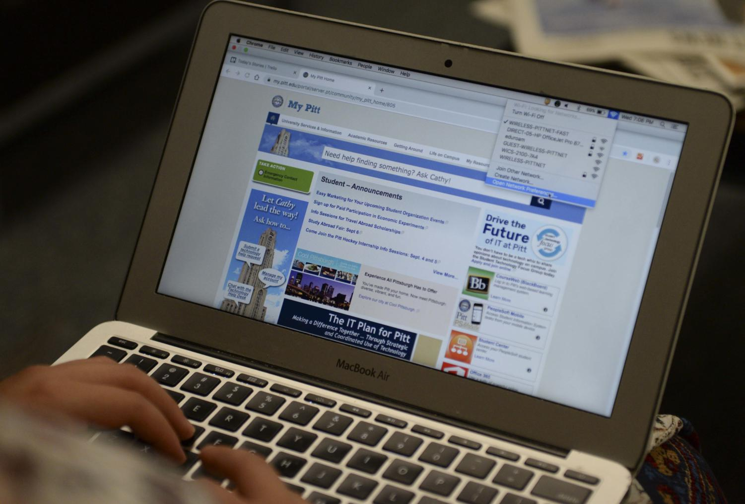 Pitt recently outsourced Wi-Fi services for students living in residence halls.