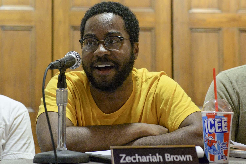 SGB President Zechariah Brown.