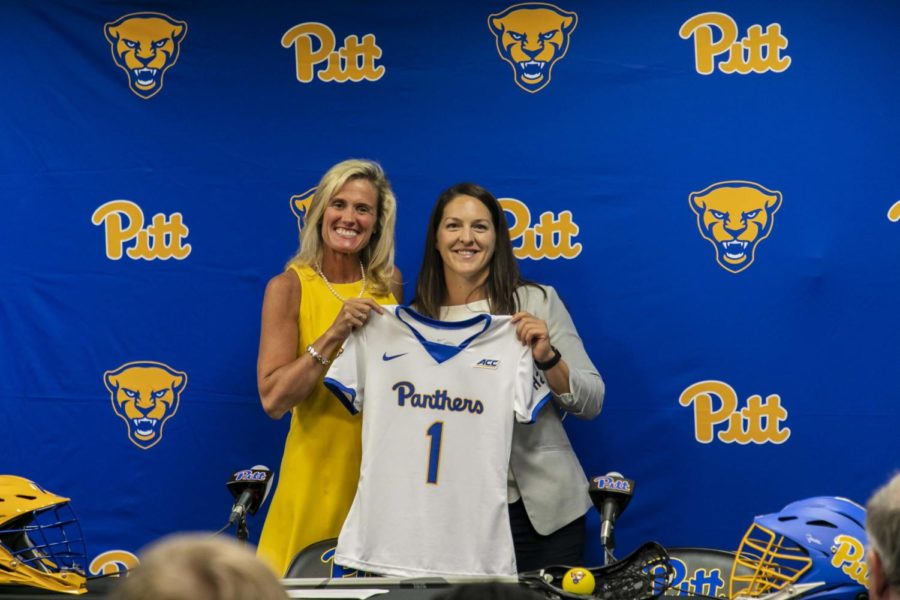 Emily Boissonneault is the first head coach of Pitt's inaugural varsity women's lacrosse team.