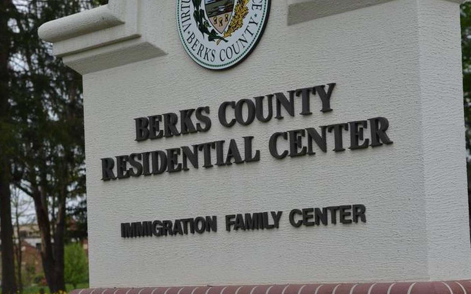 Berks County Residential Center is one of three family detention facilities in the country in which ICE detains undocumented immigrant families.