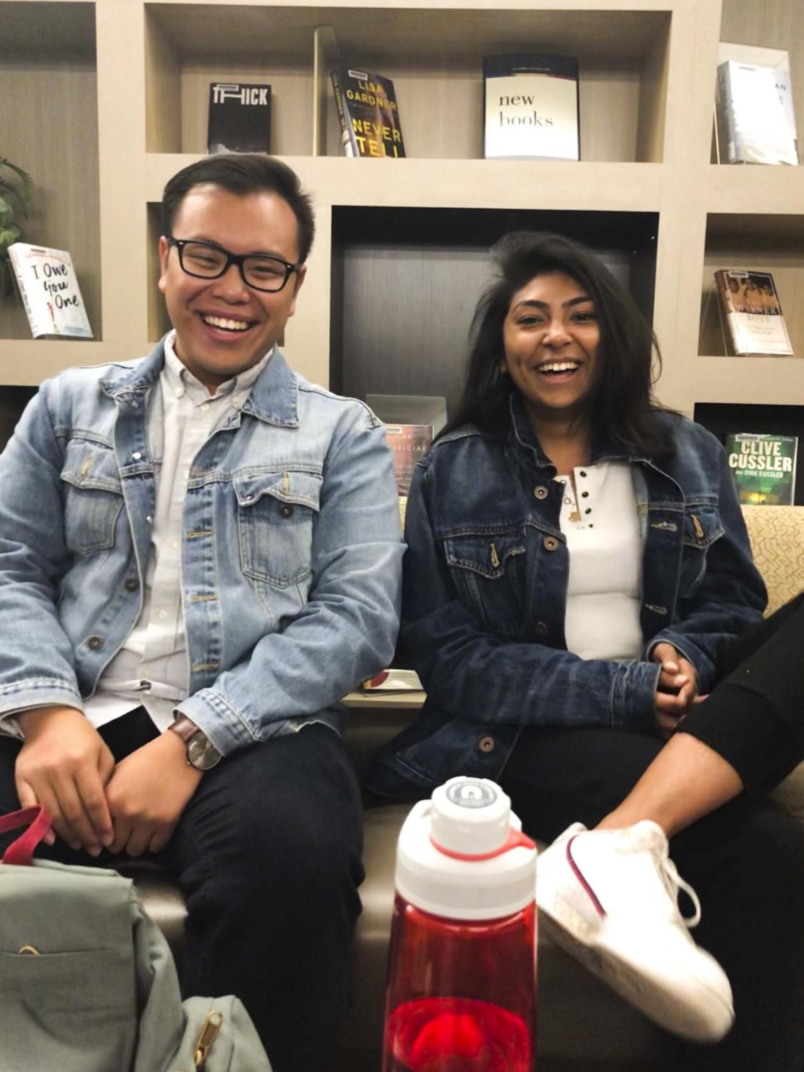 Albert Tanjaya and Sareena Fayaz are both seniors and the new co-presidents of Humans of Pitt, an organization based off of the famous Humans of New York photoblog.