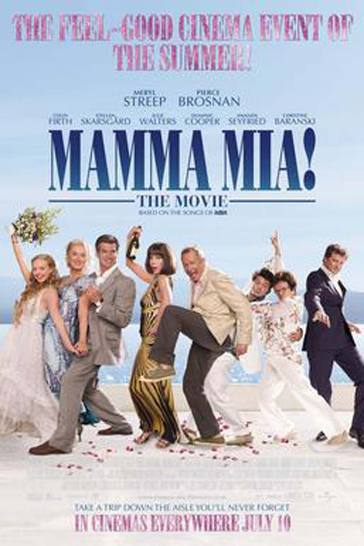 """""""Mamma Mia"""" release poster."""