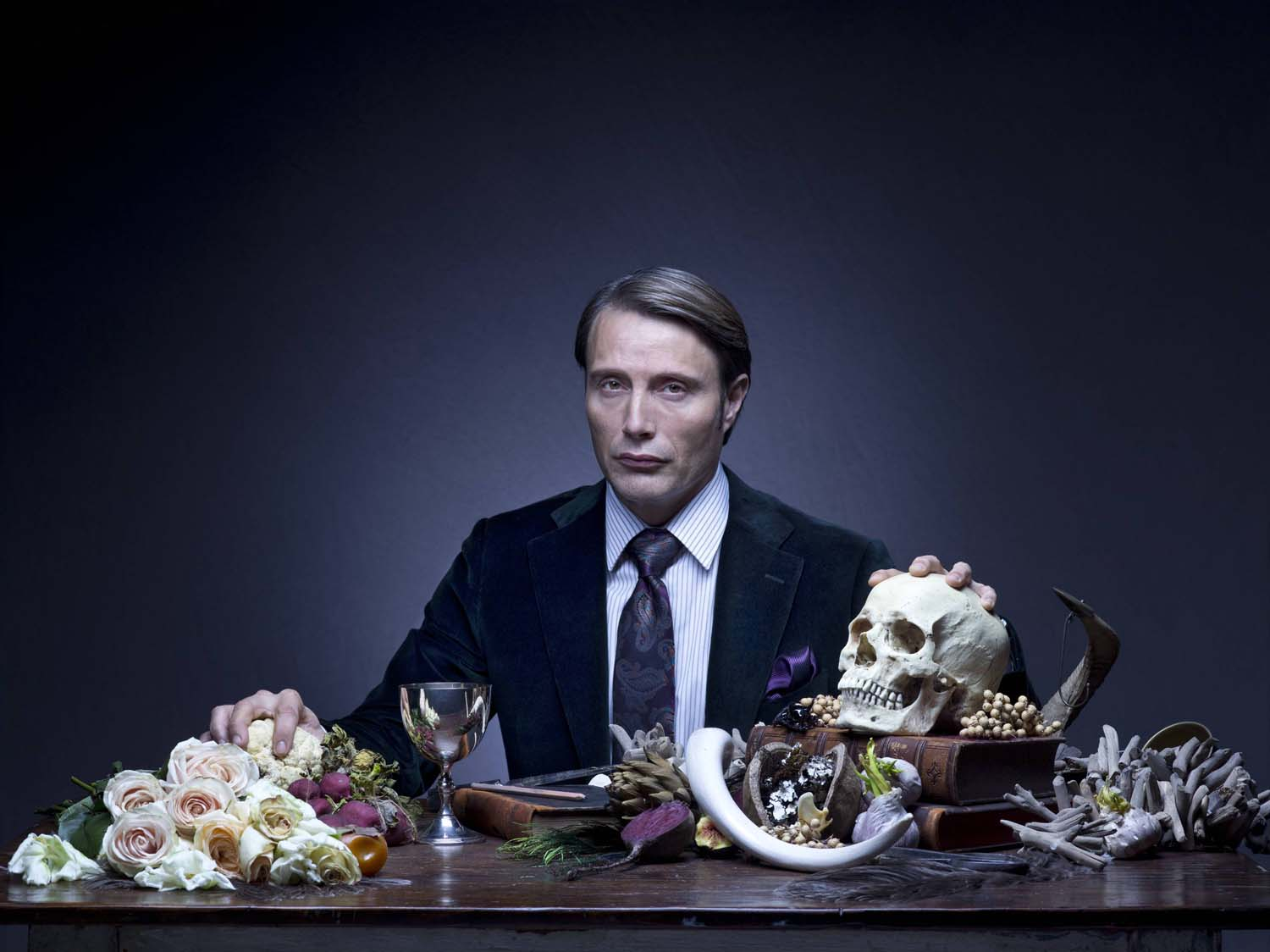 """Mads Mikkelsen stars as the titular character in NBC's """"Hannibal."""""""