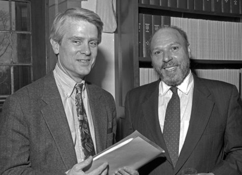 Christopher Rawson (left) wrote two articles in the first volume of the Pitt-published journal devoted to playwright August Wilson (right).